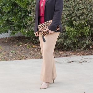 Lexie fit Limited camel dress pants